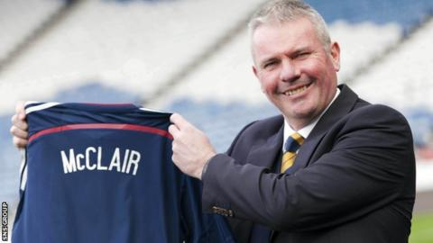 Brian McClair has left his role as the Scottish Football Association's performance director