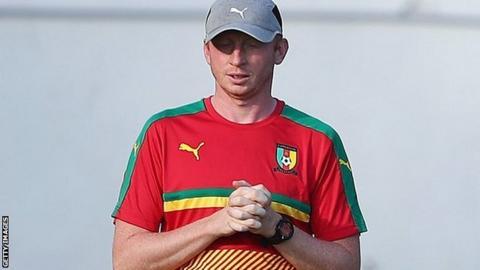 Belgian coach Sven Vandenbroeck