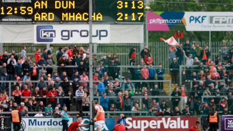 Armagh beat Down in an extra-time thriller two weeks ago