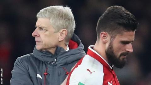 Giroud grateful to Arsenal after ending 'beautiful story' with Chelsea switch