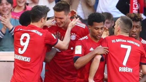 Bayern Munich's Niklas Sule