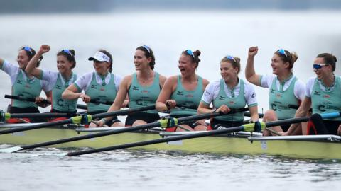 Cambridge women celebrate