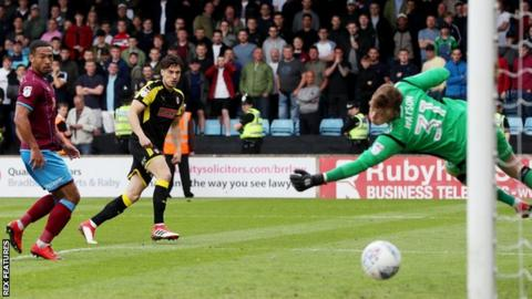 Joe Newell scores for Rotherham