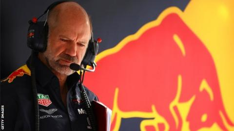 Adrian Newey Chief Technical Officer of Red Bull