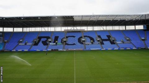 The Ricoh Arena first became home to Coventry City in 2005