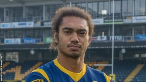 Chris Vui is Worcester Warriors' fourth new short-term signing in little over a month