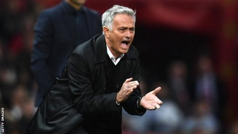 Jose Mourinho: 'We're not good enough to play the United way'