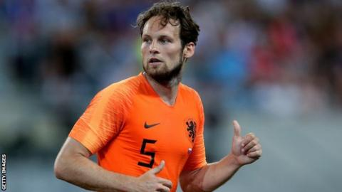 The arrival of Daley Blind at Ajax could see De Jong leave