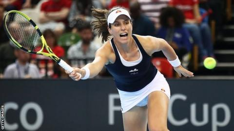 Johanna Konta loses first clay-court final in Morocco