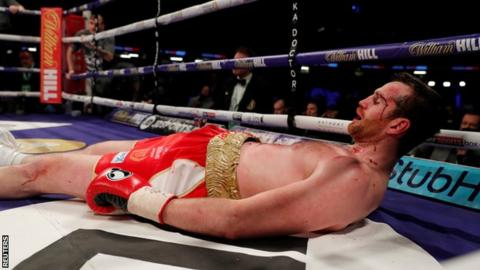David Price is knocked out by Alexander Povetkin in Cardiff
