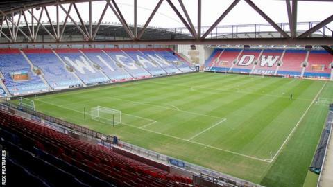 football DW Stadium
