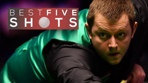 Allen shocks O'Sullivan - best five shots