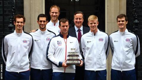 Kyle Edmund Davis Cup