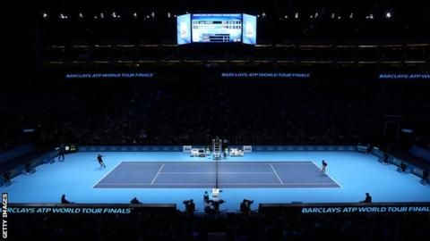 Atp Tour Finals To Remain In London Until At Least 2020 Bbc Sport