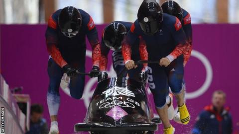 GB's bobsleigh team of Sochi 2014