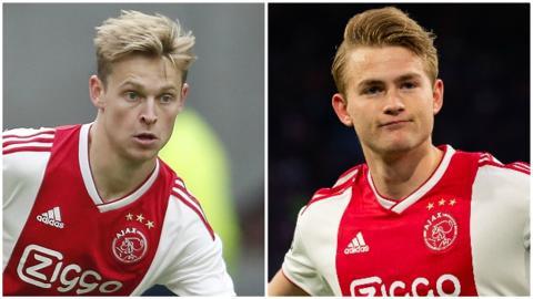 Ajax v Chelsea: Who has replaced Matthijs de Ligt and Frenkie de Jong?