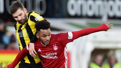 Aberdeen 1-0 Dumbarton: Sam Cosgrove penalty spares home side's blushes