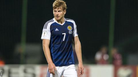 Scotland midfielder Stuart Armstrong