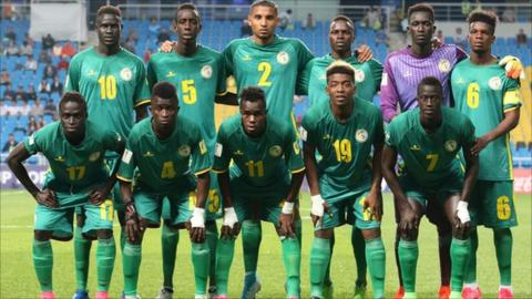 Senegal U20 team