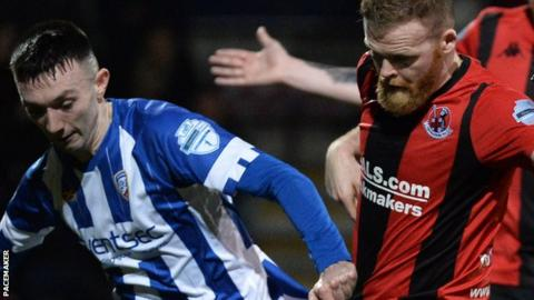Crusaders' semi-final against Coleraine will be played at the Oval