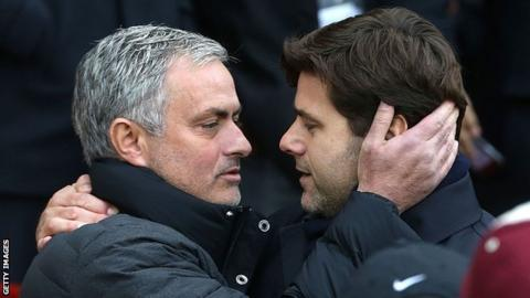 Mourinho (left) believes Tottenham have had a good summer