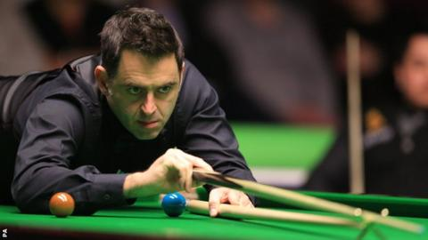 "O'Sullivan said he was not taking the early rounds of the UK Championship ""too seriously"""