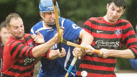 Oban Camanachd had to come from behind three times at Kilmallie