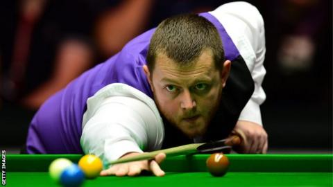 Mark Allen is currently ninth in the world rankings