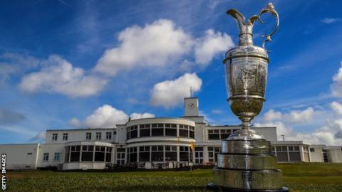 This year's Open will be staged at Royal Birkdale