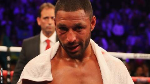 Kell Brook after his defeat against Gennady Golovkin