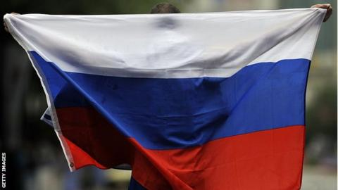 Russia has been banned from competing as a nation in athletics since 2015