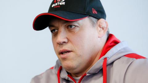 Ulster's head coach Jono Gibbes will be leaving the role at the end of this year