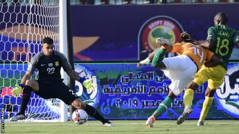 Africa Cup of Nations 2019: Kodjia fires Ivory Coast past South