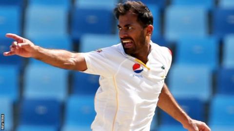 Pakistan paceman Wahab Riaz