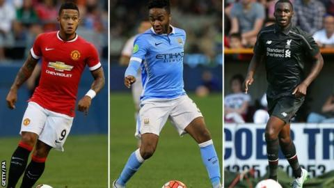 Memphis Depay, Raheem Sterling and Christian Benteke have all made big-money moves this summer