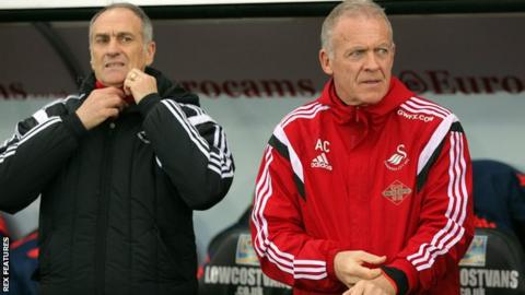 Francesco Guidolin (left) & Alan Curtis