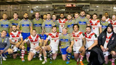 Warrington v St George