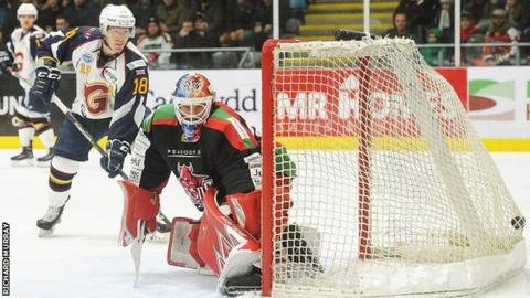 Kevin King opened the scoring for Guildford Flames in Cardiff