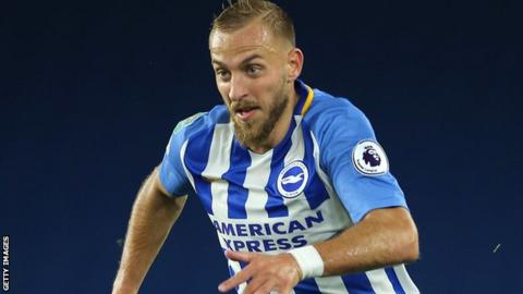 Jiri Skalak in action for Brighton