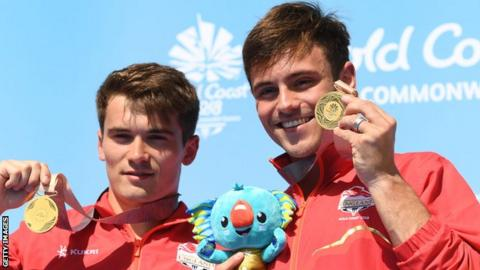 Tom Daley and Dan Goodfellow
