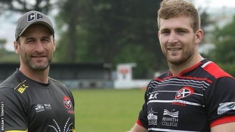 Gavin Cattle and Nicolas De Battista