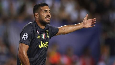 Emre Can: Juventus midfielder apologises for 'we're not women' comment