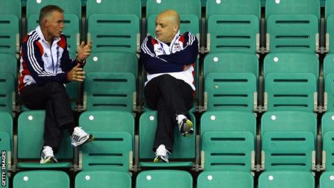 Shane Sutton and Sir Dave Brailsford