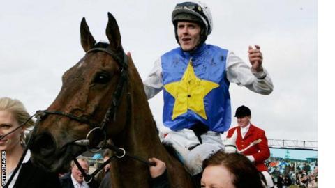 Andrew McNamara won the Irish Grand National on Bluesea Cracker