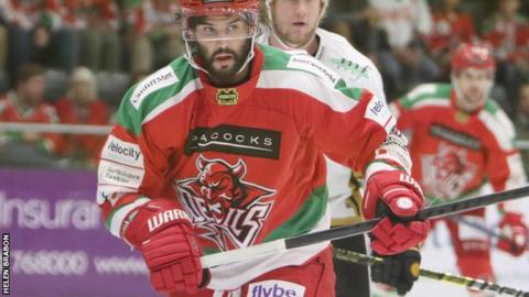 Stephen Dixon had opened the scoring for Cardiff Devils