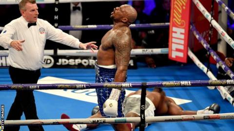 Whyte boxed patiently under pressure and found a late knockout