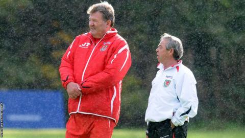 2004: John Toshack succeeded Mark Hughes as Wales manager in 2004 and he appointed former team-mate Brian Flynn as intermediate teams manager.