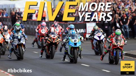 BBC Sport NI extends NW 200 deal