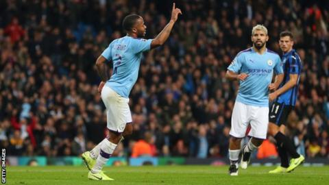 Manchester City 5-1 Atalanta: Pep Guardiola praises 'extraordinary' Raheem Sterling after hat-trick