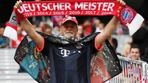 Bayern Munich fan